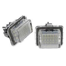 2 Pcs de Luz de Matrícula para Mercedes Benz C W204 E W212 S W221 CL Coche