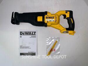 DeWalt DCS389B FLEXVOLT 60V MAX Cordless Brushless Reciprocating Saw Open Box