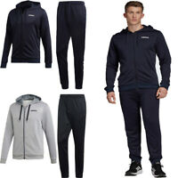 Adidas Mens Tracksuits Hoodie Bottoms Linear Full Zip Training Top Track Pant