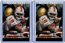 1998 Press Pass #1 Peyton Manning Rookie Lot of 2 NM-MT Tennessee Colts