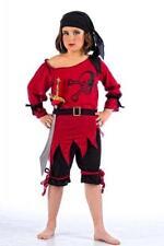 Disfraz pirata niña infantil bucanera