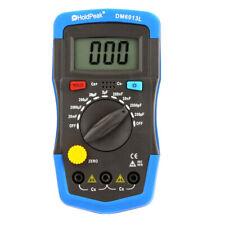 DM6013L Handheld Digital Capacitance Meter Capacitor w/ LCD Backlight X1Y7