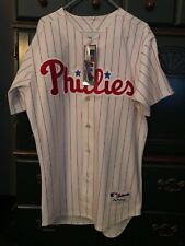 100% Authentic Majestic Phillies Ryan Howard Jersey Size 44