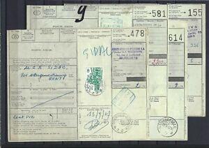 [LG15498] Belgium Nice lot Shipping documents Railroad UNG
