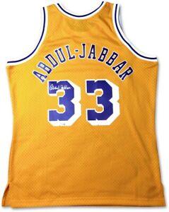 Kareem Abdul-Jabbar Signed Autographed Mitchell & Ness Jersey Lakers Fanatics
