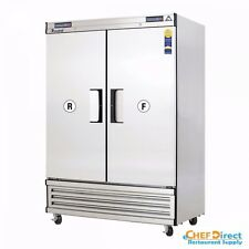 Everest EBRF2 Two Section  Upright Reach-In Dual Temp Refrigerator/Freezer Combo