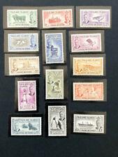 Falkland Isl. #107-20 VF O.G.      Catalog $200.40