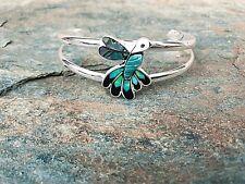 Alpaca Silver Hummingbird Cuff Bracelet by Artesanas Campesinas New mb015