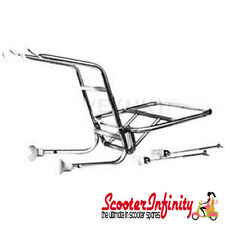 Carrier/Rack Front Cuppini (Chrome) (Classic Vespa / Lambretta) PX GP LI SX TV