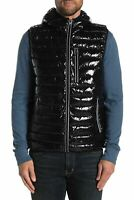Noize Mens Hooded Puffer Vest Jacket Various Sizes & Colors New Full Zip Pockets