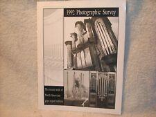 American Institute of Pipe organ builders picture brochure