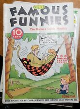 Famous Funnies #13 (Eastern Color) beautiful white pages.Buck Rogers