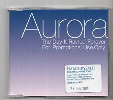 (IY328) Aurora, The Day It Rained Forever - 2002 DJ CD