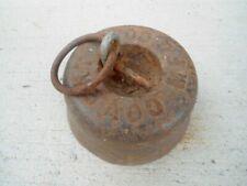 Antique 15 ib. cast iron tether