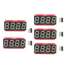 5x LED Display Module HT16K33 I2C 0.56'' 4 Digit Seven-Segment for Arduino