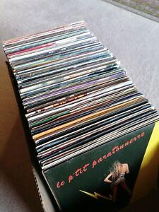"Konvolut Vinyl 7"" europop italo Chansons disco Hits rares Single-Sammlung Rock"