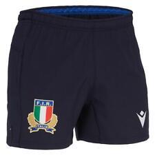 Italia Fir Rugby MACRON - Pantalones Cortos Lejos Oficial - Temporada 2019/20