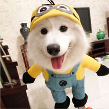 Despicable Me Pet Costume Dog Funny Outfit Clothing Yellow Halloween