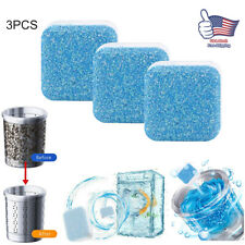 3/6Pcs Effervescent Cleaning Tablets Deep Cleaning Solid Washing Machine Cleaner