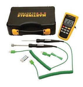 Legionella Testing Thermometer Kit Martindale Testing Kit - 2 Year Warranty