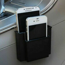 Black Plastic Cell Phone Holder Car  Storage Box Double Layer Iphone Sumsang