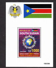 SOUTH SUDAN 2020 NH COVD 19 Virus SHEET Pandemic Quick Delivery -FreeShipUSA