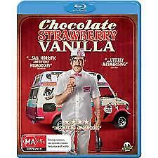 CHOCOLATE STRAWBERRY VANILLA BLU RAY - NEW & SEALED MONSTER PICTURES, CULT