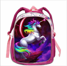 Единорог рюкзак ребенок школьная сумка Радуга поездки маленькая unicornio для девочек