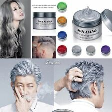 Mofajang Dye Unisex Grey Hair Seven Colors Mud Wax Molding Silver Gray Styling