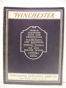 Rare Original 1929 Winchester Catalog Guns Ammo Flashlights Fishing Tools 234 pg