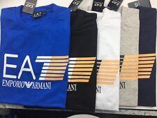 NWT Mens Emporio Armani big logo Crew Neck T Shirt