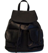 Genuine Leather backpack Bottega Carele BC707large 4 colors Made in Italy.