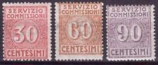 1913 REGNO D' ITALIA SERVIZIO COMMISSIONI N.1/3 NUOVO MNH**RR FIRMA COLLA-BIONDI