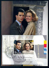 Liechtenstein 1993, Maximum card, Royal couple, MK.117, Block 15.