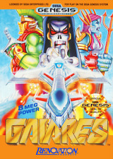 Gaiares SEGA GENESIS Video Game