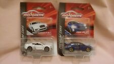 MAJORETTE PREMIUM CARS,VERY RARE BENTLEY CONTINENTAL & BLUE SUBARU WRX STi,MIB.