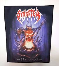 SINISTER THE MACABRE GOD  SUBLIMATED BACK PATCH