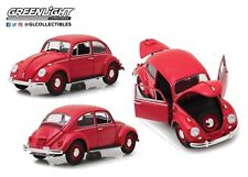GreenLight 1/18 1967 Volkswagen Beetle Right-Hand Drive Candy Apple Red 13511