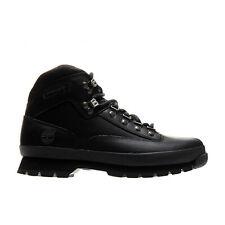 Timberland Men's Euro Hiker Boots Black 56038 e