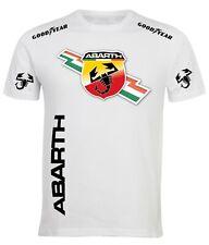 Tshirt stile abarth maglietta uomo bambino auto corse gta racing sport ABS10
