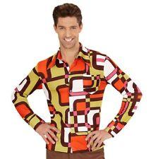 Costume Carnevale Uomo Camicia 70 Hippy 09081 taglia S/M
