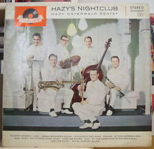 HAZY OSTERWALD SEXTET HAZY'S NIGHT CLUB GERMAN PRESS LP POLYDOR 1960
