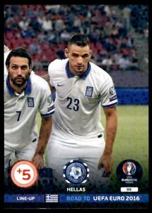 Panini Road to EURO 2016 Adrenalyn XL Line-Up 3 Hellas No. 99