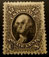 Us stamps 19th century used Scott #69 light cancel sound VF