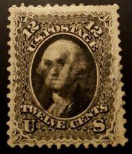 Us stamps 19th century used Scott #69 light cancel sound VF