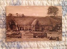 Vintage Post Card Of The Old Tithe Barn, Bradford On Avon. Wiltshire