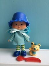 New ListingVintage Strawberry Shortcake Blueberry Muffin Doll Pet Mouse Cheesecake 1980 Box