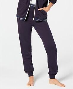 Calvin Klein Sleepwear - Modern Jogger Pajama Pants - Navy, Large #6679