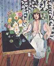 Henri Matisse La Tabla Negro A4 Foto impresión