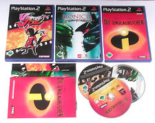 3 Spitzen KINDER Spiele für Playstation 2 z.B. VIEWTIFUL JOE; LEGO BIONICLE;
